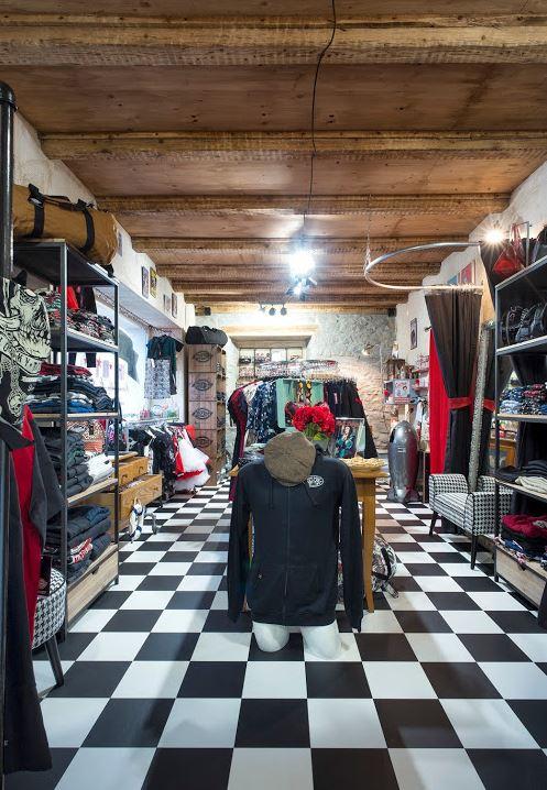 Innenansicht Vintage und Rockabilly Shop Anakonda